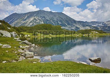Amazing Landscape to Muratovo lake and Todorka peak, Pirin Mountain, Bulgaria