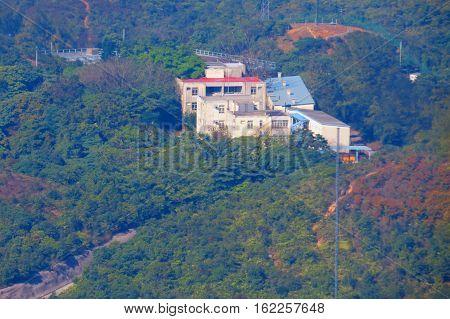 House At The Top Of Hong Kong