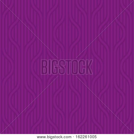 Stpiped wavy pattern. Purple Neutral geometric seamless patterns for web design. Monochromatic colors tileable vector background.