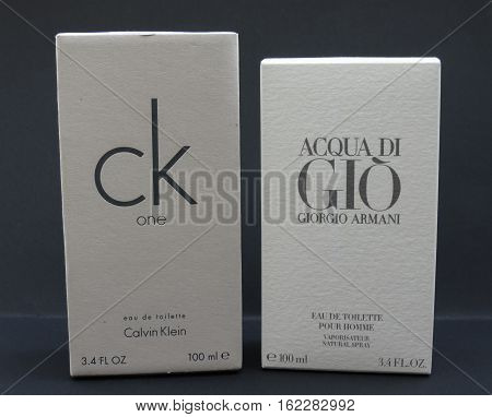 Acqua Di Gio And Ck One
