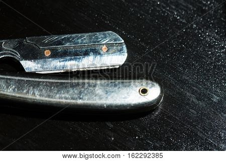 Vintage Razor With Sharp Blade