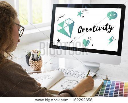 Fresh Ideas Design Creativity Concept