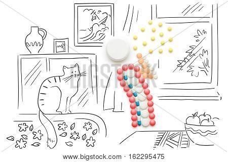 Spreading Bacteria.