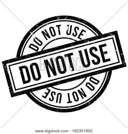 Do Not Use rubber stamp. Grunge design with dust scratches. Effects can be easily removed for a clean, crisp look. Color is easily changed.