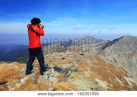 Trekking in National Park Retezat, Romania