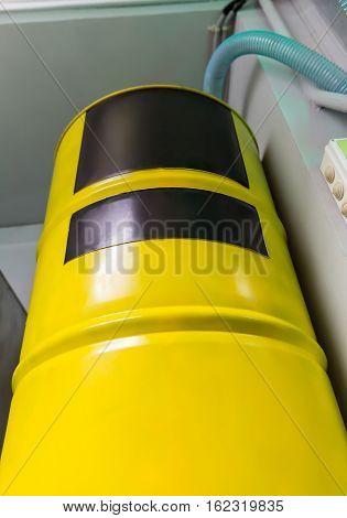 Big yellow barrel