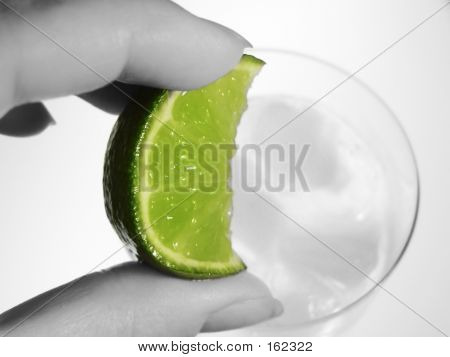 Squeezing A Lime