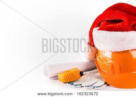 New Year Seasonal Sale On Construction Service