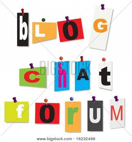 blog,chat and forum