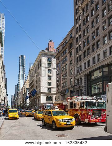 Fifth Avenue In New York City