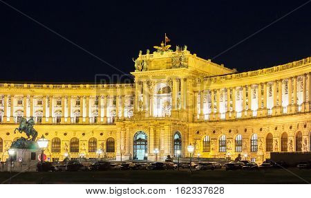 The Hofburg is a former imperial palace in centre of Vienna Austria.Built in 13th century it has housed some of the most powerful people in European and Austrian historyincluding monarchs of the Habsburg dynastyrulers of Austro-Hungarian Empire.