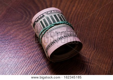 twisted money background of the money fifty dollar bills background of dollars