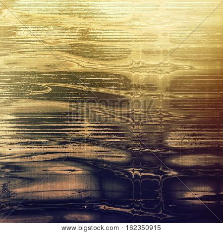 Vintage background - dirty ancient texture. Antique grunge backdrop with different color patterns: yellow (beige); brown; gray; purple (violet)