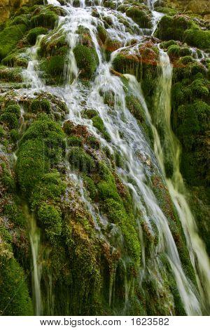 Foerst Waterfall With Sun Galo