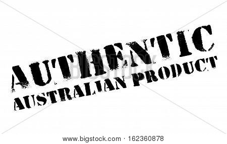 Authentic australian product stamp. Grunge design with dust scratches. Effects can be easily removed for a clean, crisp look. Color is easily changed.