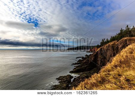 Saint Martin at Fundy Bay, New Brunswick, Canada