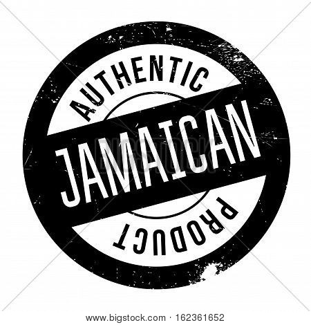 Authentic jamaican product stamp. Grunge design with dust scratches. Effects can be easily removed for a clean, crisp look. Color is easily changed.