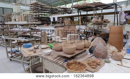 The view of ceramic industry in indonesia
