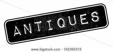 Antiques rubber stamp. Grunge design with dust scratches. Effects can be easily removed for a clean, crisp look. Color is easily changed.