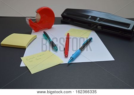 Commonly used supplies for the office or home