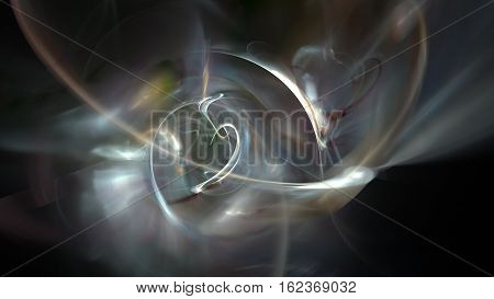 Black storm and wind abstract background 3D
