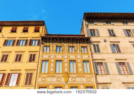 Historic Buildings In Florence, Italy