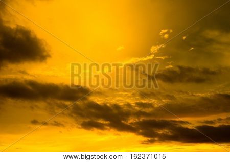 sky background on a sunrise