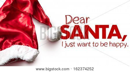 Dear Santa, I Just Want to Be Happy