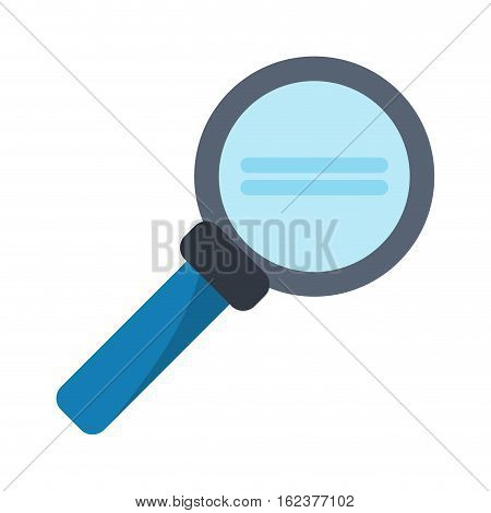 search loupe magnifier tehcnology vector illustration eps 10