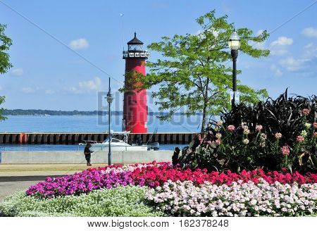 Kenosha Wisconsin Pier head Lighthouse, Kenosha, Wisconsin