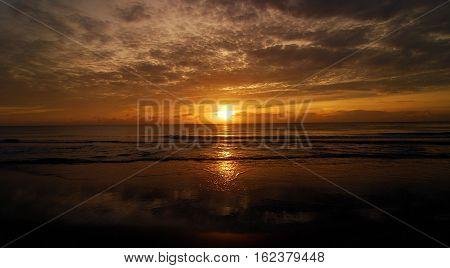 Sunrise at Spanish River Park in Boca Raton Florida