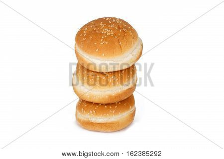 Isolated Crumpet Bread View