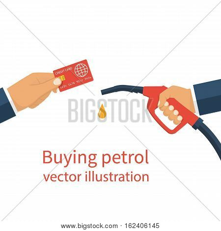 Buying Petrol, Concept