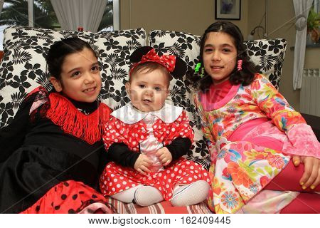 beautiful minnie, carnival costume