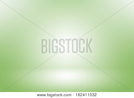 Green gradient abstract background / green room studio background / dark tone / for used background or wallpaper.