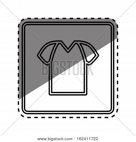 Tshirt basic wear icon vector illustration graphic design