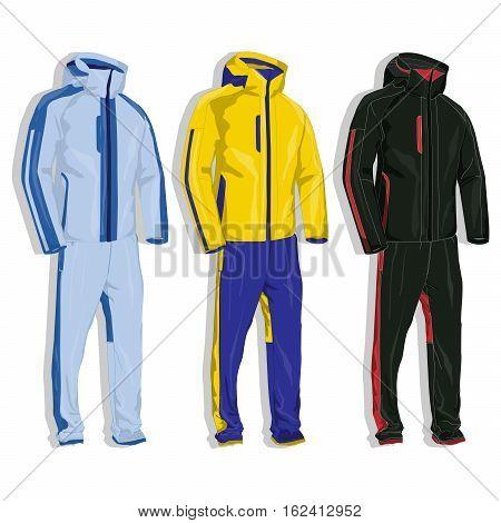 Sport Suit Vector.