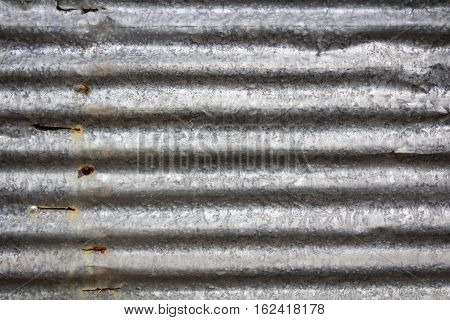 Zinc wall rusty Zinc grunge background and taxture