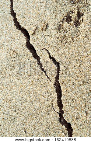 sea sand shore sand colored sand sandy beach beach sand colored sand the crack on the sand