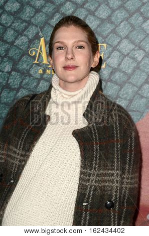 LOS ANGELES - DEC 16:  Lily Rabe at the