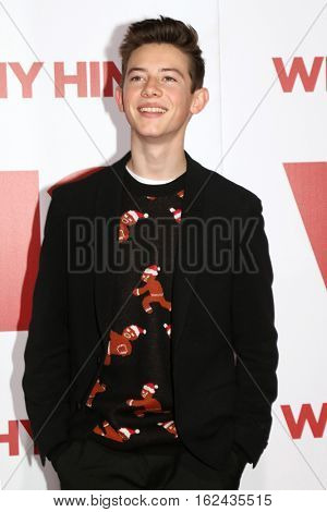 LOS ANGELES - DEC 17:  Griffin Gluck at the