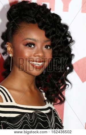LOS ANGELES - DEC 17:  Skai Jackson at the