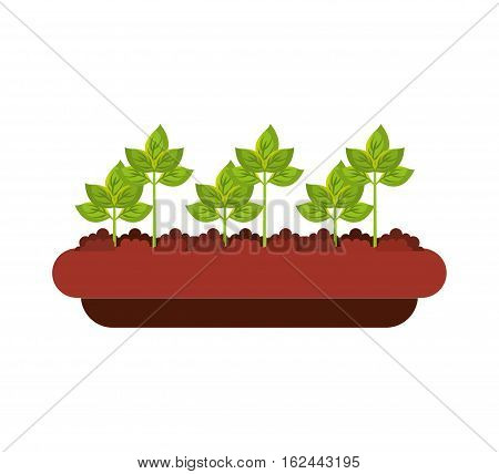 agriculture cultivate isolated icon vector illustration design