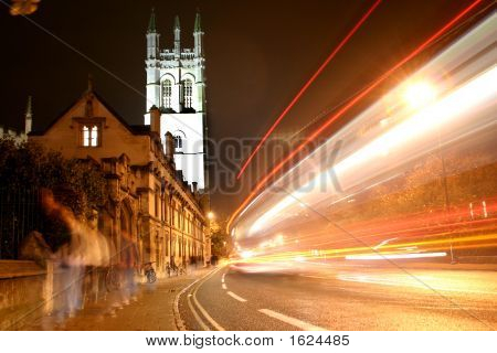 Oxford Magdalen Tower At Night 2