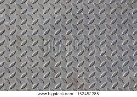 Seamless metal texture Table of steel sheet.