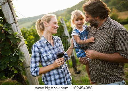 Wine Grower Family Tasting Wine