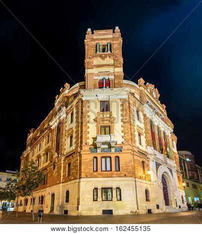 Main post office in Cadiz - Spain, Andalusia
