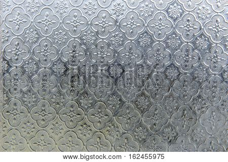 vintage glass Pattern, texture, background. stock photo