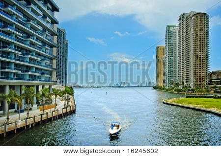 A view of Downtown Miami, in Florida, USA