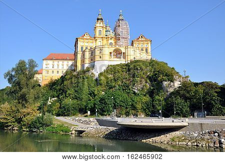 old Catholic monastery, Melk, Wachau, Austria, Europe